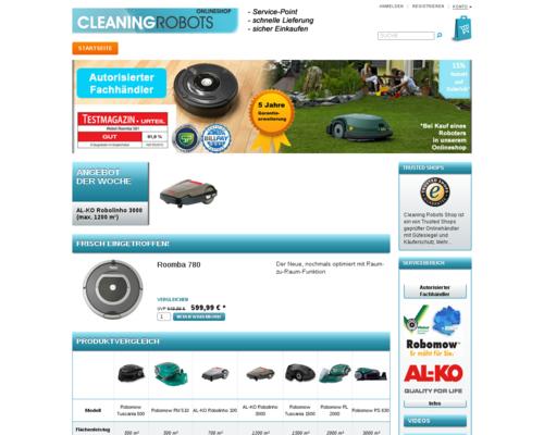 Cleaning Robots Screenshot