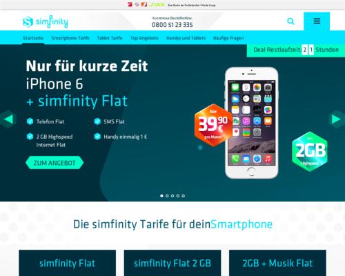 simfinity Screenshot