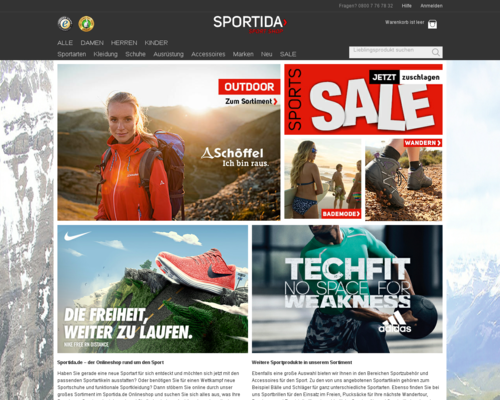 Sportida Screenshot