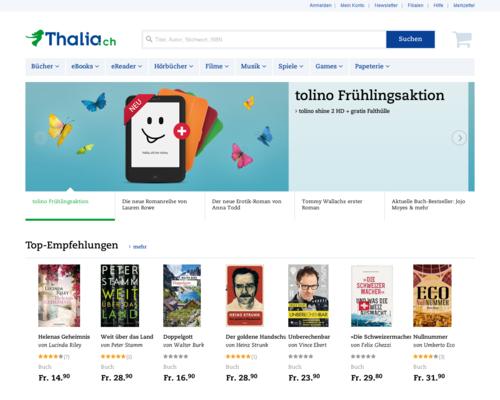 Thalia.ch Screenshot