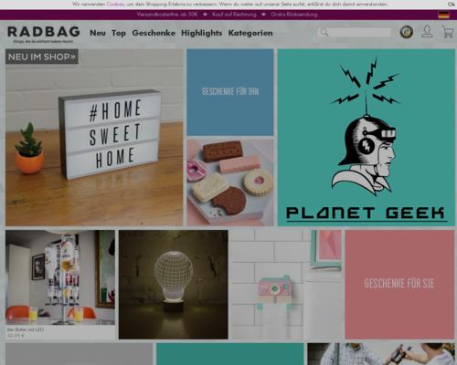 Radbag Screenshot