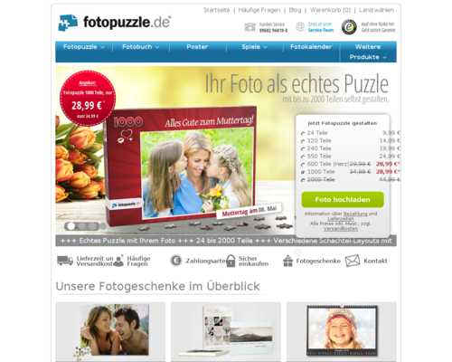 Fotopuzzle Screenshot