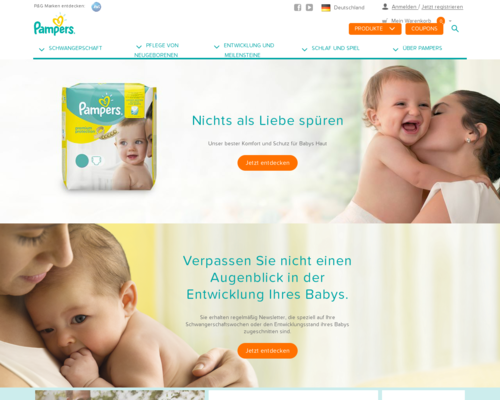 Pampers Screenshot