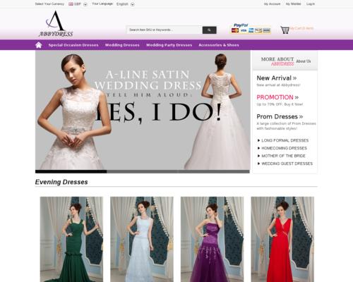 Abby Dress Screenshot