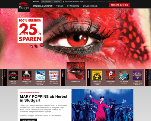 Stage-Entertainment Screenshot