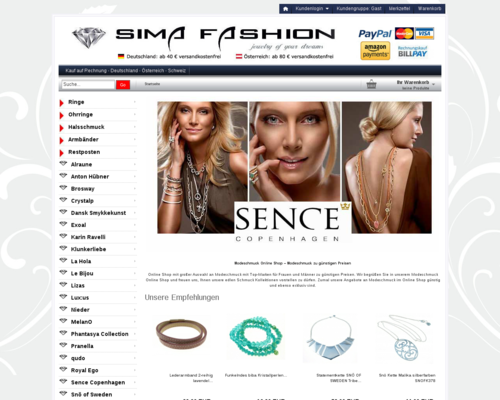 Sima Fashion Screenshot