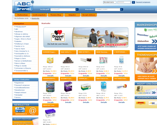 ABC-Arznei Screenshot