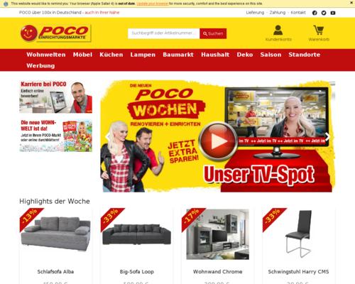 Poco Versand Screenshot