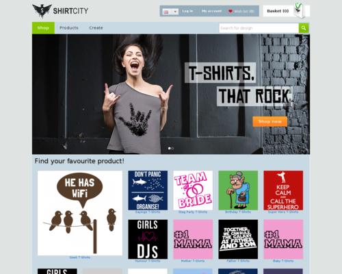 Shirtcity Screenshot