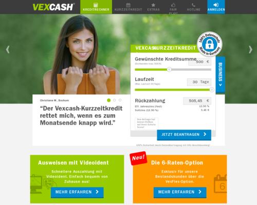 Vexcash Screenshot