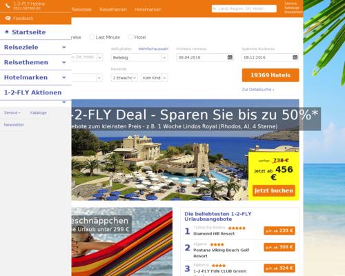 1-2-FLY.com Screenshot