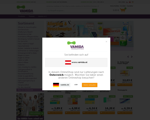 Vamida Screenshot