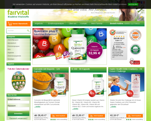 Fairvital Screenshot