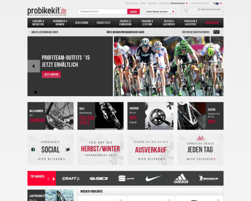 Probikekit Screenshot