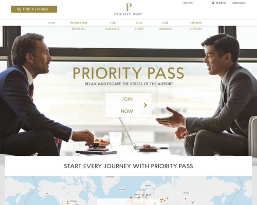 Priority Pass Screenshot