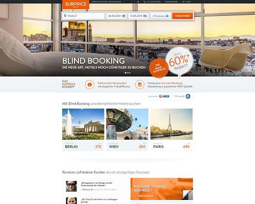 Surprice Hotels Screenshot