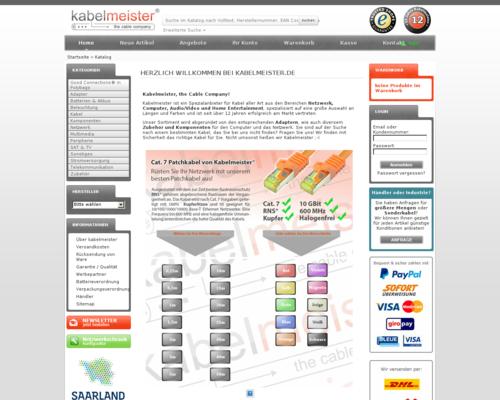 Kabelmeister Screenshot
