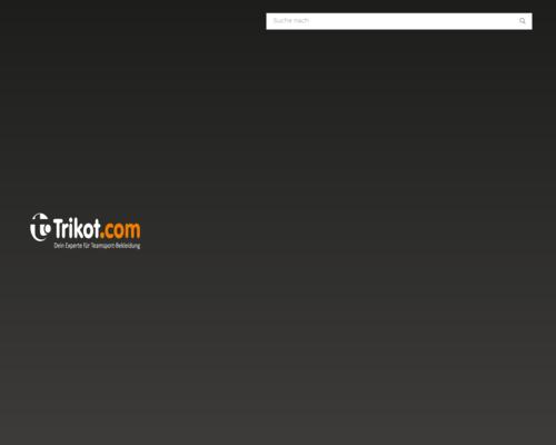 Trikot.com Screenshot