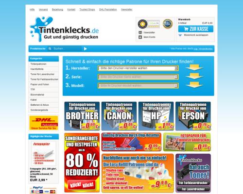 Tintenklecks Screenshot