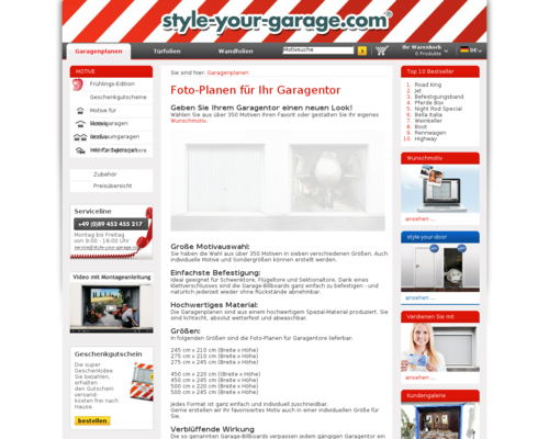 style-your-garage Screenshot