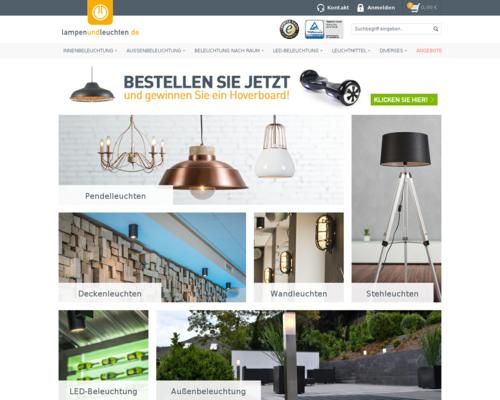 Lampen und Leuchten Screenshot