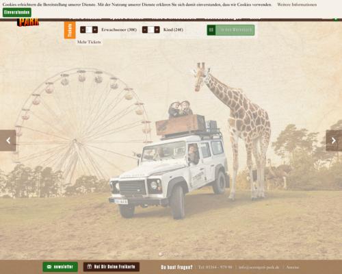 Serengeti Park Screenshot