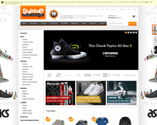 Stylefile Screenshot