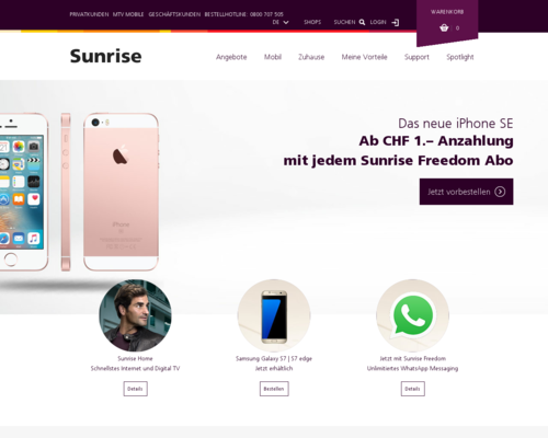 Sunrise Screenshot