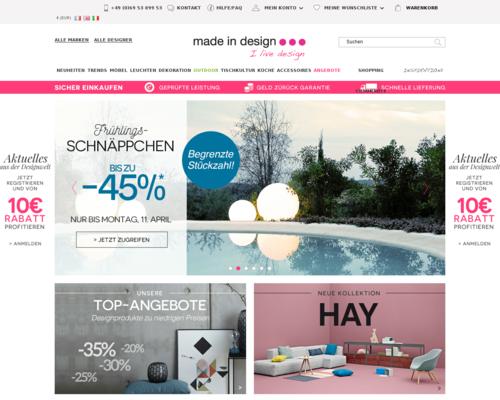 Made In Design Screenshot