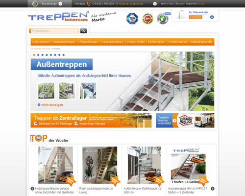 Treppen Intercon Screenshot
