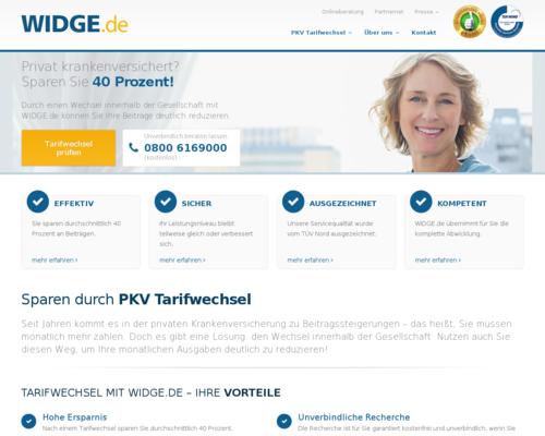 Widge Screenshot