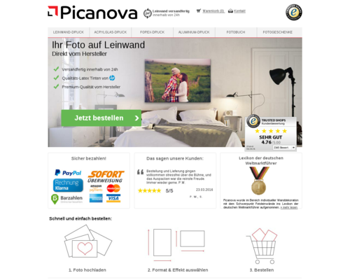 Picanova Screenshot