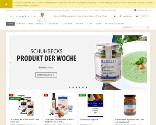 Schuhbeck Screenshot