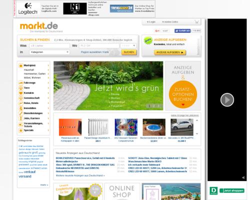Schleckermaul.de Screenshot