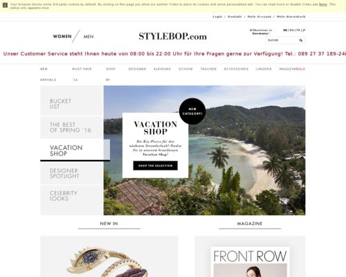 Stylebop Screenshot