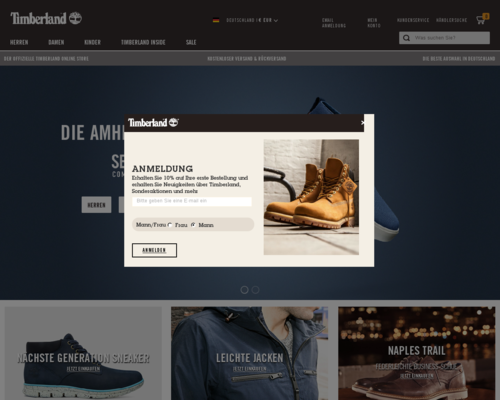 Timberland Screenshot