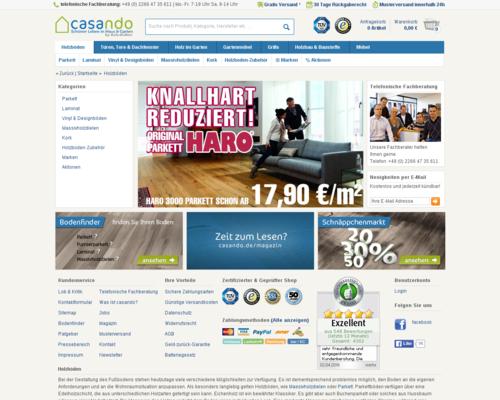 Parkett-Store24 Screenshot