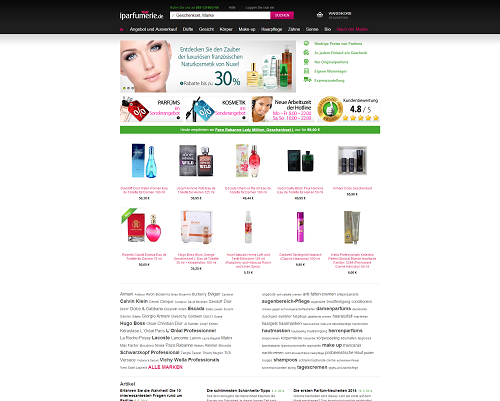iparfumerie Screenshot