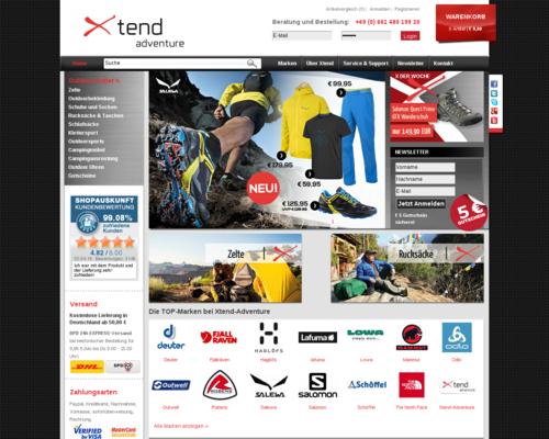 Xtend Adventure Screenshot