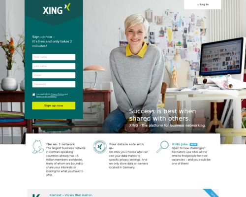 XING Screenshot