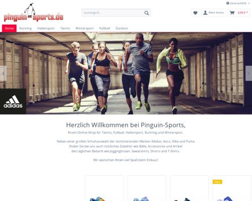 pinguin-sports Screenshot