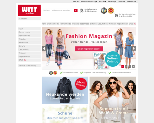 Witt Weiden Screenshot
