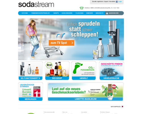 Sodastream Screenshot