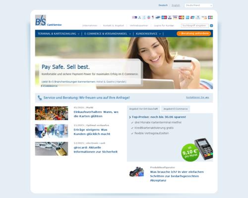 B+S Card-Service Screenshot