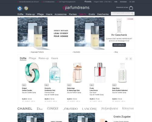 Parfumdreams Screenshot