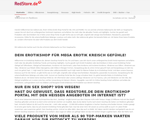 Redstore Screenshot
