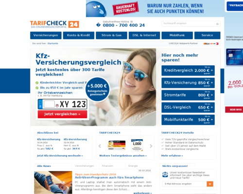 TarifCheck24 Screenshot