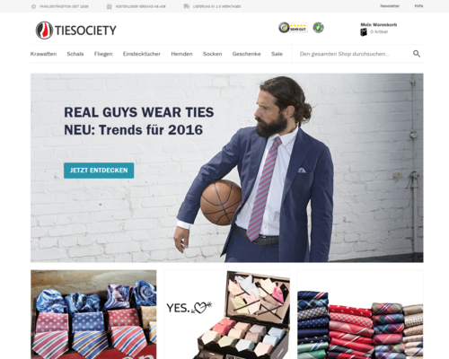 Tiesociety Screenshot