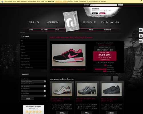 Royale Depot Screenshot