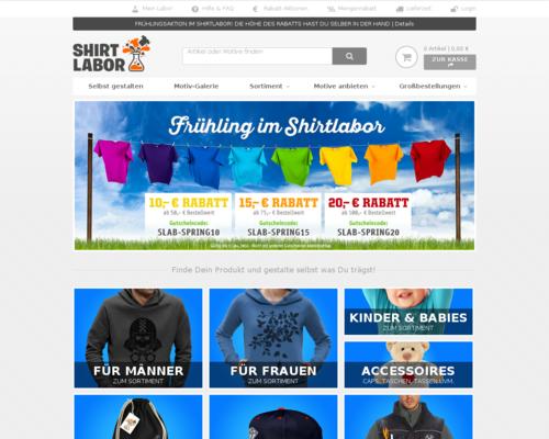 Shirtlabor Screenshot